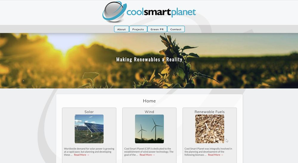 Cool Smart Planet