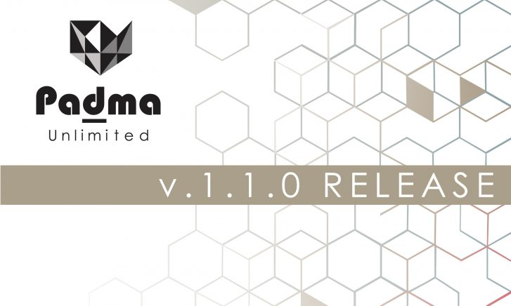 Padma | Unlimited version 1.1.0 release