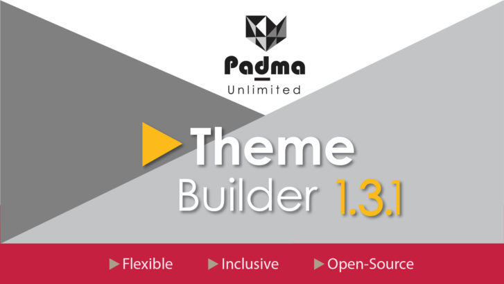 Padma Theme Version 1.3 was released