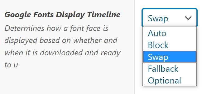 Display Timeline → Swap